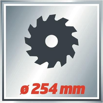 Einhell radiaal afkortzaag TCSM2531 1800W