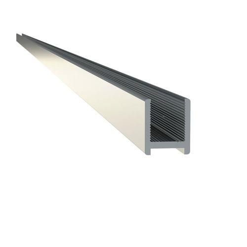 Sealskin get wet Mix&Match muurprofiel 2000mm zilver hoogglans voor 8mm veiligheidsglas