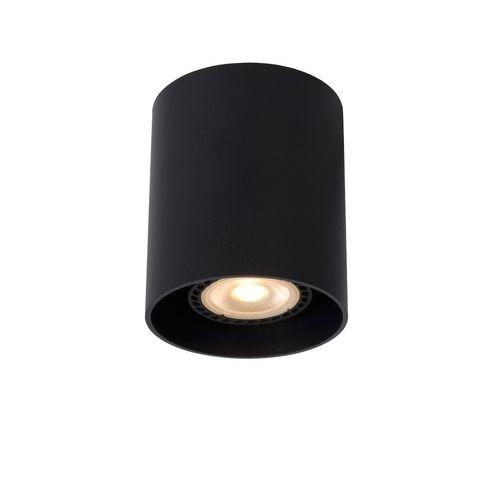 Lucide plafondlamp Bodi zwart GU10