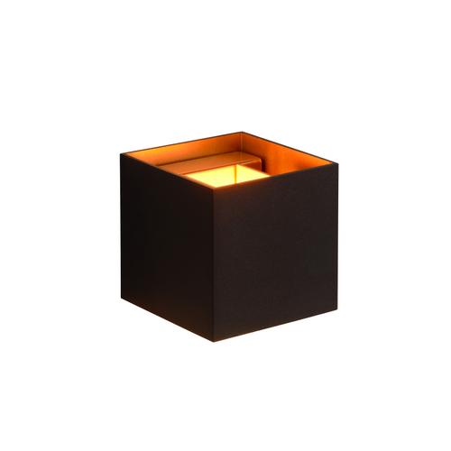 Lucide wandlamp Xio zwart 4W