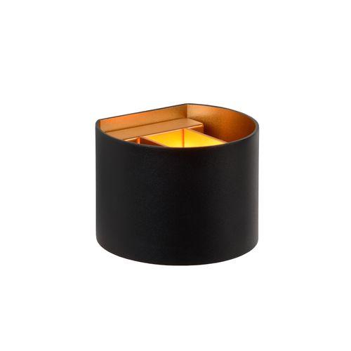 Lucide wandlamp LED Xio zwart 4W