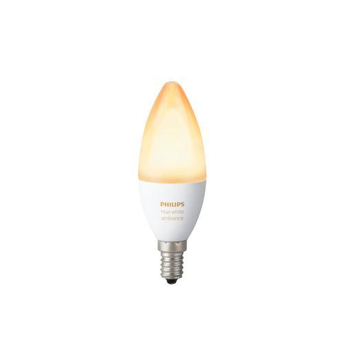 Philips Hue ampoule flamme blanc Ambiance E14