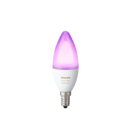 Philips Hue ampoule flamme White and Color Ambiance E14