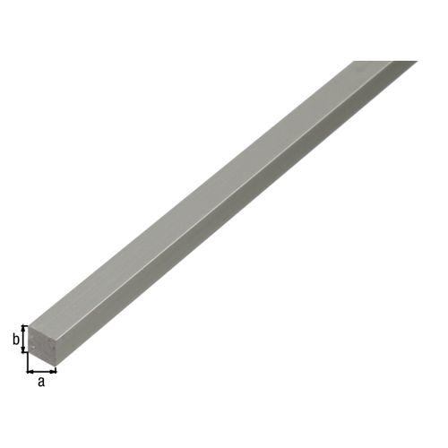 Vierkant massief aluminium profiel GAH Alberts 100cmx12mmx12mm