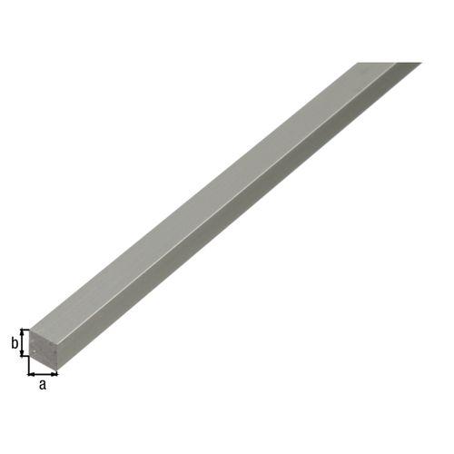 GAH Alberts geanodiseerd aluminium vierkant profiel 100cmx10mmx10mm