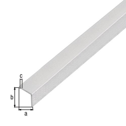 GAH Alberts zelfklevend hoekprofiel  aluminium gehamerd 100cmx20mmx20mm