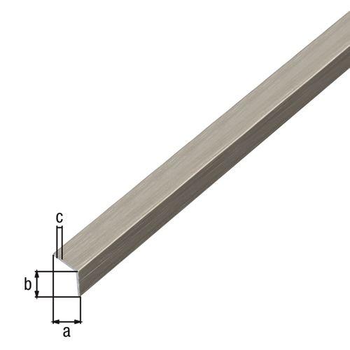 Zelfklevend hoekprofiel GAH Alberts aluminium 100cmx20mmx20mm
