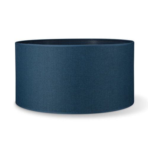 Home Sweet Home lampenkap Canvas navy-blue 50cm