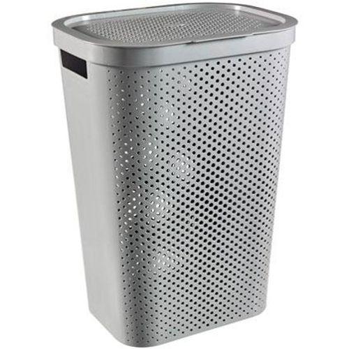 Curver wasbox Infinity Dots 60L grijs