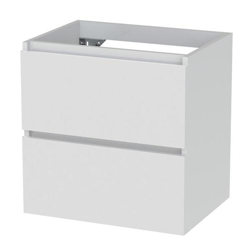 Meuble sous-lavabo Tiger Loft 60cm blanc neige brillant