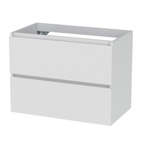 Meuble sous-lavabo Tiger Loft 80cm blanc neige brillant