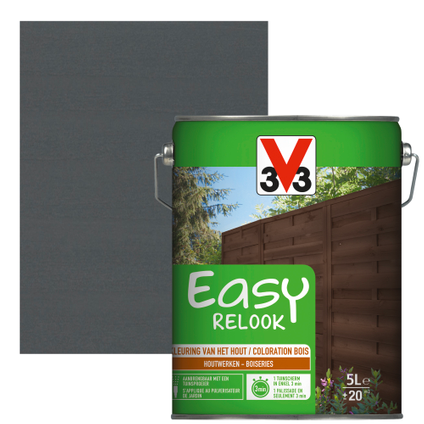 Lasure V33 Easy Relook anthracite satiné 5L