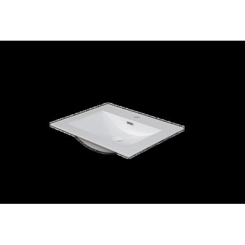 Lavabo AquaVive Cecina/Savena blanc brillant 60cm