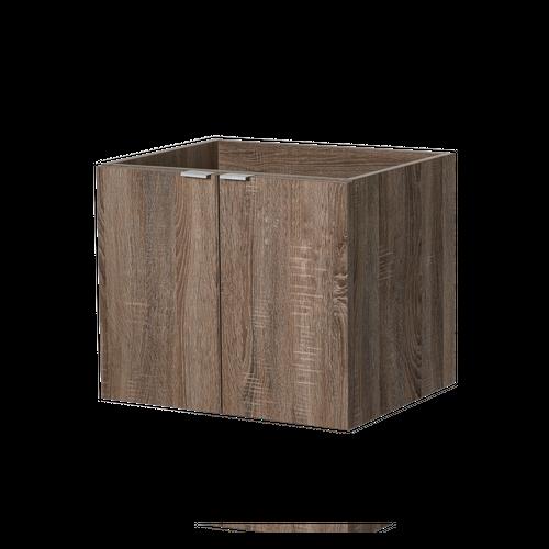 AquaVive wastafelonderkast Cecina donker eiken 60cm