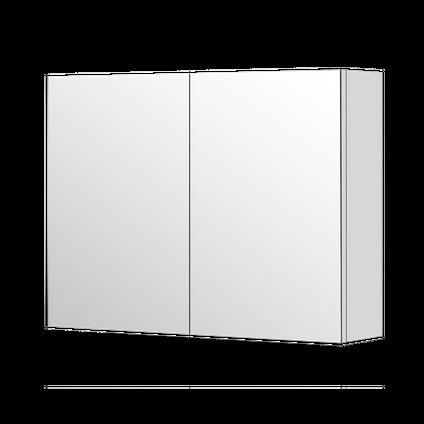 AquaVive spiegelkast Cecina/Savena 80cm hoogglans wit