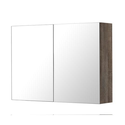 AquaVive spiegelkast Cecina/Savena donker eiken 80cm