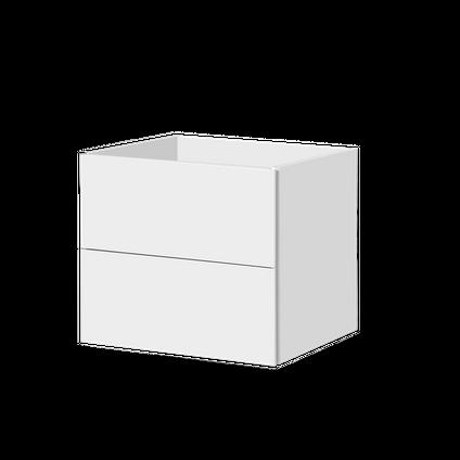 Meuble sous-lavabo Aquavive Savena blanc brillant 60cm