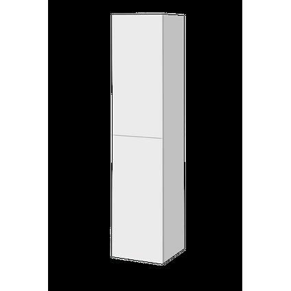 AquaVive kolomkast Cecina/Savena hoogglans wit 160cm
