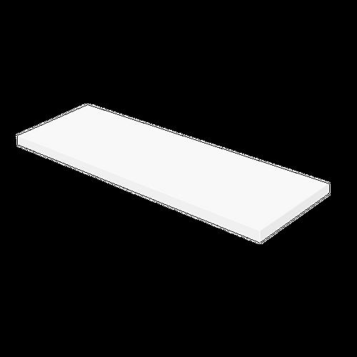 Aquazuro wastafelblad Napoli 180cm hoogglans wit