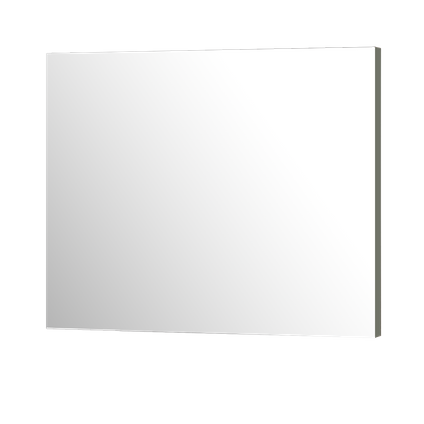 Miroir Aquazuro Napoli gris foncé mat 90cm