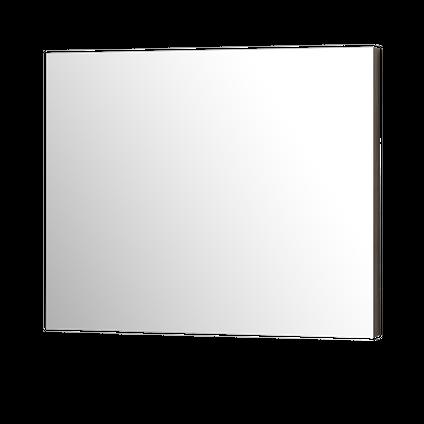 Aquazuro badkamerspiegel Napoli grijs eiken 90cm
