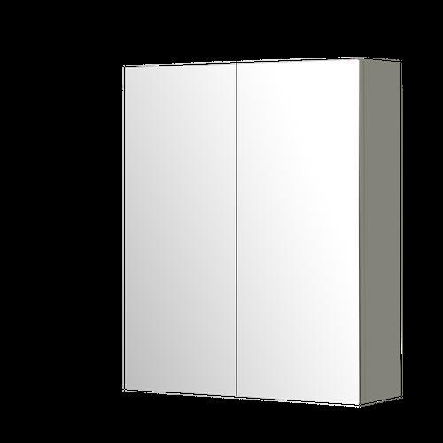 Armoire de toilette Aquazuro Napoli chêne gris brillant 60cm