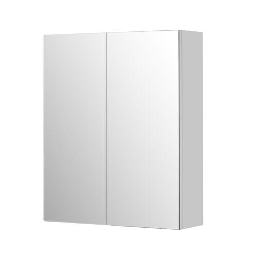 Aquazuro spiegelkast Napoli 60cm hoogglans wit