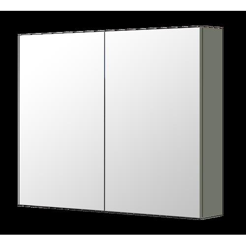 Armoire de toilette Aquazuro Napoli gris foncé mat 90cm