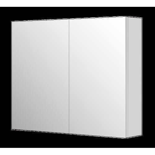 Armoire de toilette Aquazuro Napoli blanc brillant 90cm