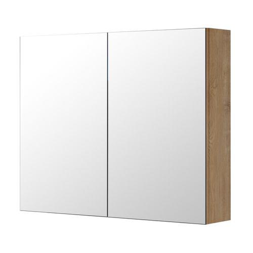 Aquazuro spiegelkast Napoli 90cm naturel eiken