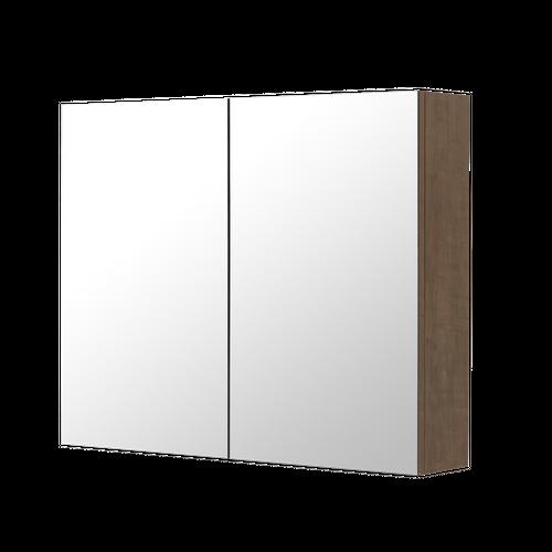 Aquazuro spiegelkast Napoli 90cm bruin eiken
