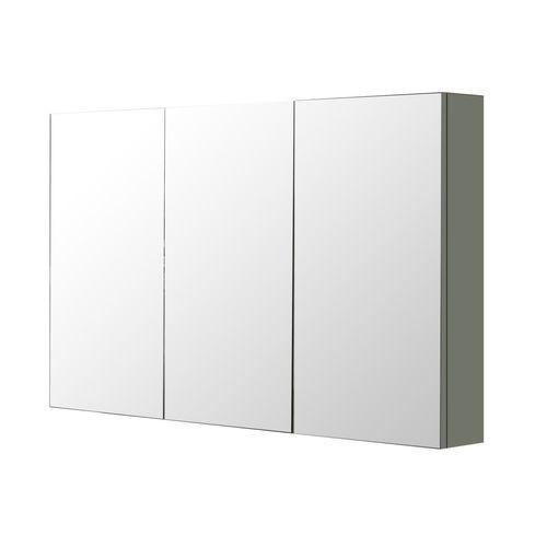 Aquazuro spiegelkast Napoli 120cm donkergrijs mat