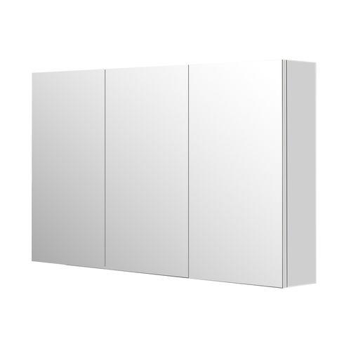 Armoire de toilette Aquazuro Napoli blanc brillant 120cm