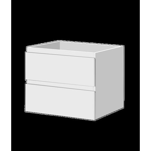 Aquazuro wastafelonderkast Napoli 60cm hoogglans wit