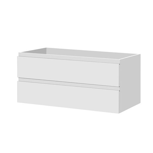 Meuble sous-lavabo Aquazuro Napoli blanc brilllant 120cm