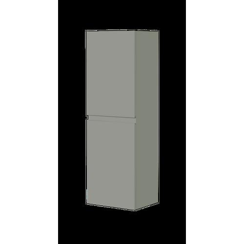 Aquazuro kolomkast Napoli 120cm hoogglans grijs