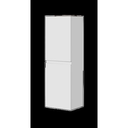 Aquazuro kolomkast Napoli 120cm hoogglans wit