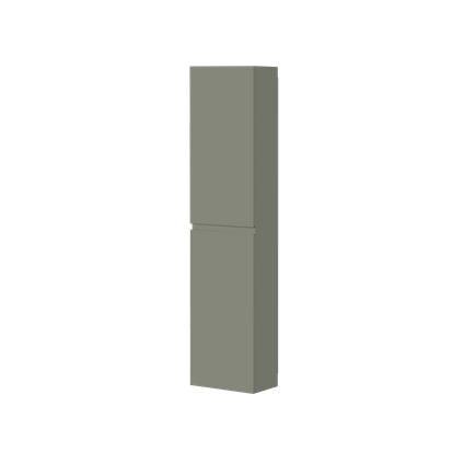 Aquazuro kolomkast Napoli 176cm donkergrijs mat