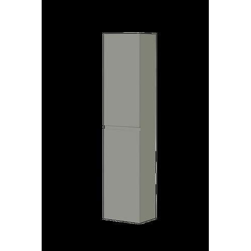 Aquazuro kolomkast Napoli 176cm hoogglans grijs