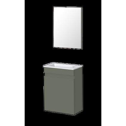 Lave-mains Aquazuro Napoli gris foncé 40cm
