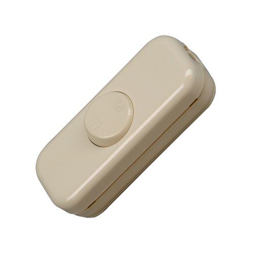 Kopp snoerschakelaar 2-polig 10A wit