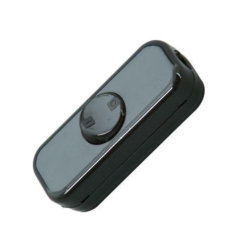 Interrupteur de passage Kopp 2 pôles 10A noir