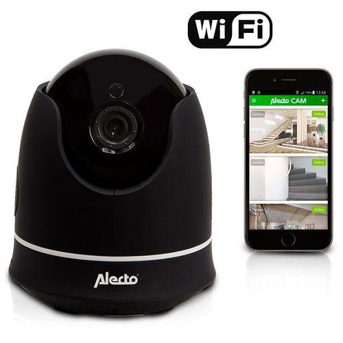 Alecto WiFi camera zwart draadloos