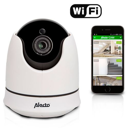 Alecto Wifi camera wit draadloos