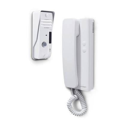 Interphone Avidsen 2 fils blanc