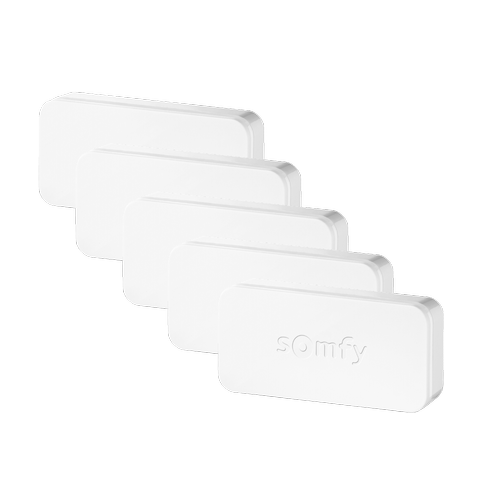Alarme portes et fenêtres contact Somfy 'IntelliTAG' - 5 pièces