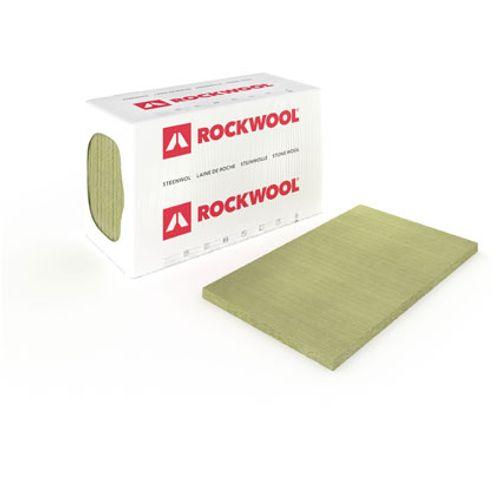 Panneau d'isolation Rockwool 'RockSono Solid' 100x60x10cm - 6 pcs