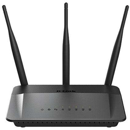 D-Link dual band router Wireless AC750 'DIR-809' zwart
