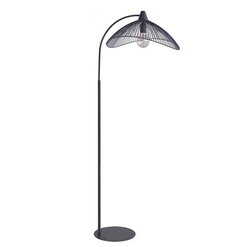 Lampadaire Seynave 'Kasteli' noir 40 W