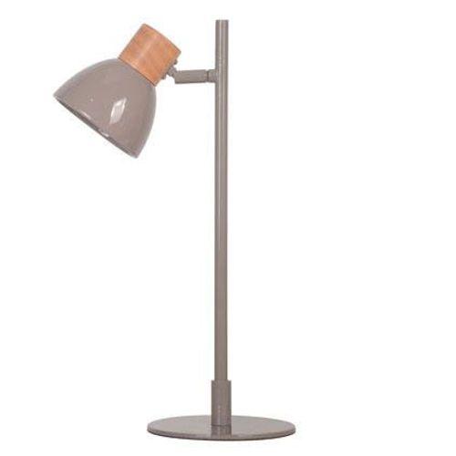 Lampe à poser Seynave 'Wilma' brun 6 W